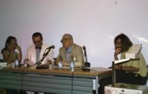 Mulhouse, 2002, de d. à g.: F. Granier, P. Moron, Y. Mourtada, S. Stirn